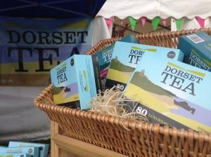 Dorset Tea hosts the refreshments marquee at Bridport Food Festival 2013