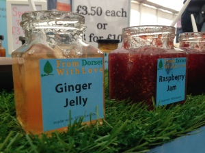 jellies and jams by From Dorset With Love were at the Bridport Food Festival 2013