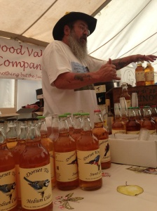 Marshwood Vale Cider at the Bridport Food Festival 2013