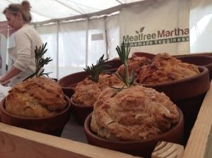 meatfree martha at bridport food festival 2013