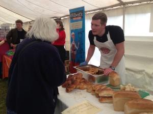 moores bisuits at bridport food festival 2013