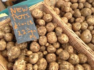 potatoes by Bothen Hill Produce at Bridport Food Festival 2013