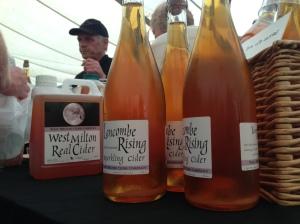 West Milton Cider at the Bridport Food Festival 2013